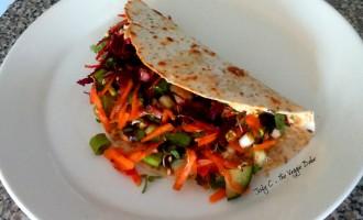 Jody C Grilled Veggie Wrap