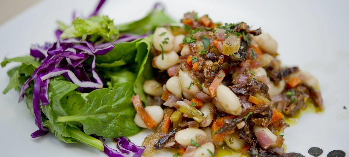 Warm White Bean Salad