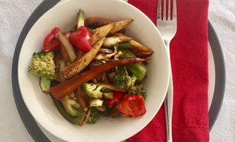 Edible Veg Stir Fry